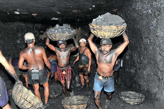 Mineros del sur de Bolívar.