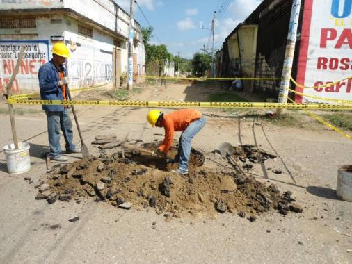 Los trabajos se realizan con recursos aportados por la Administración municipal