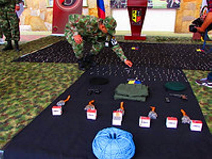 Ejército se incautó de material para explosivos en Chipaque ... - El Universal - Colombia