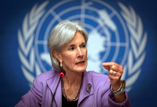 "Sebelius: Healthcare a ""Right"" Granted by ""National Governments"""