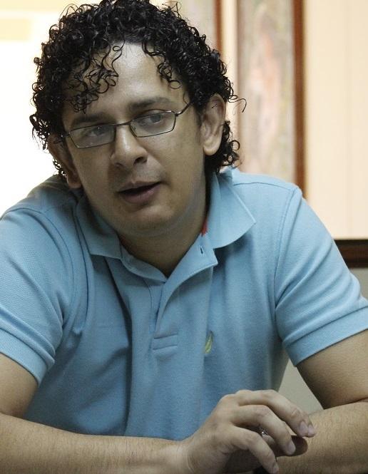 """Luis Felipe Campo, gerente del proyecto """"El Talento está en TI""""."""