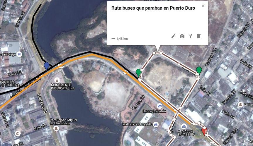 Click acá para ver mapa de rutas en Google Maps.