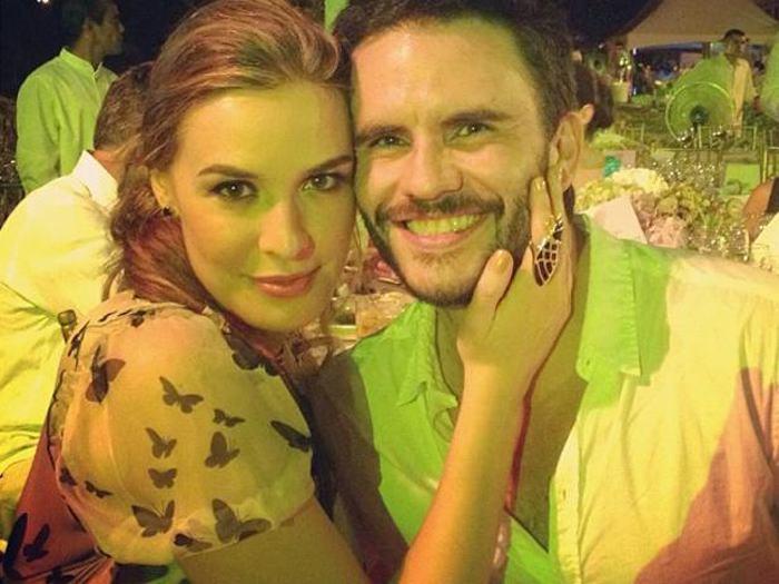 Mónica Fonseca y Juan Pablo Raba.