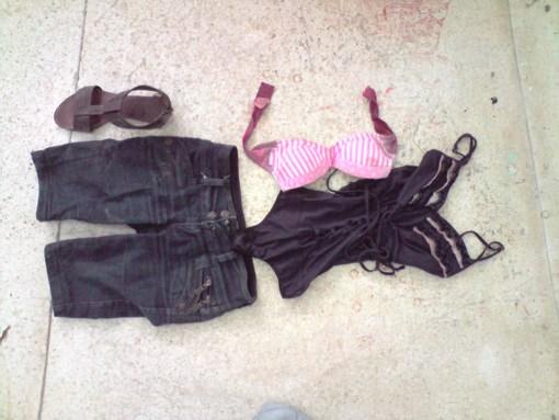 Ropa Que Usaba Una De Las Dos Mujeres Asesinadas En Cartagena El