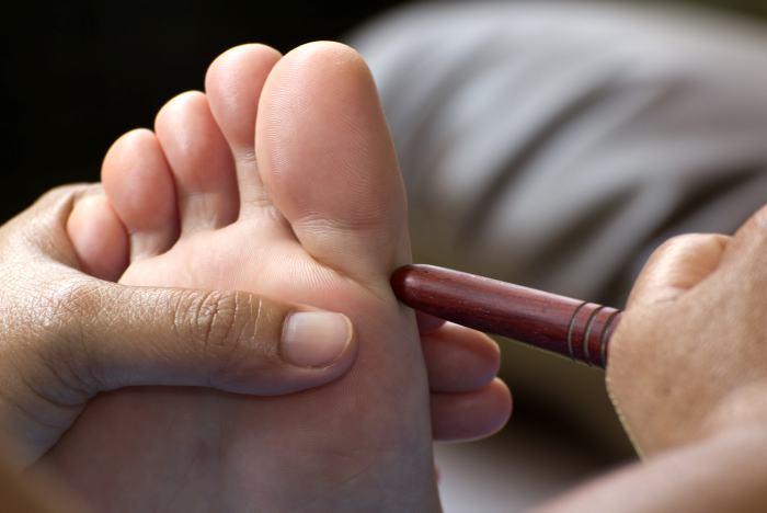Reflexología podal: sus órganos en sus pies | Acupuntura | EL ...