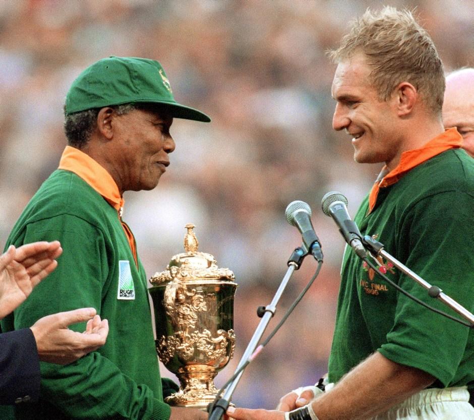 Mundial de Rugby de 1995 en Sudáfrica