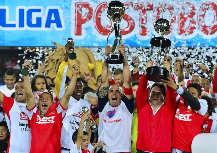 Santa Fe Campeón de Colombia