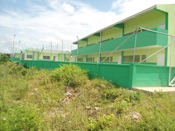 Colegio de Villa Anita, abandonado - El Universal - Cartagena