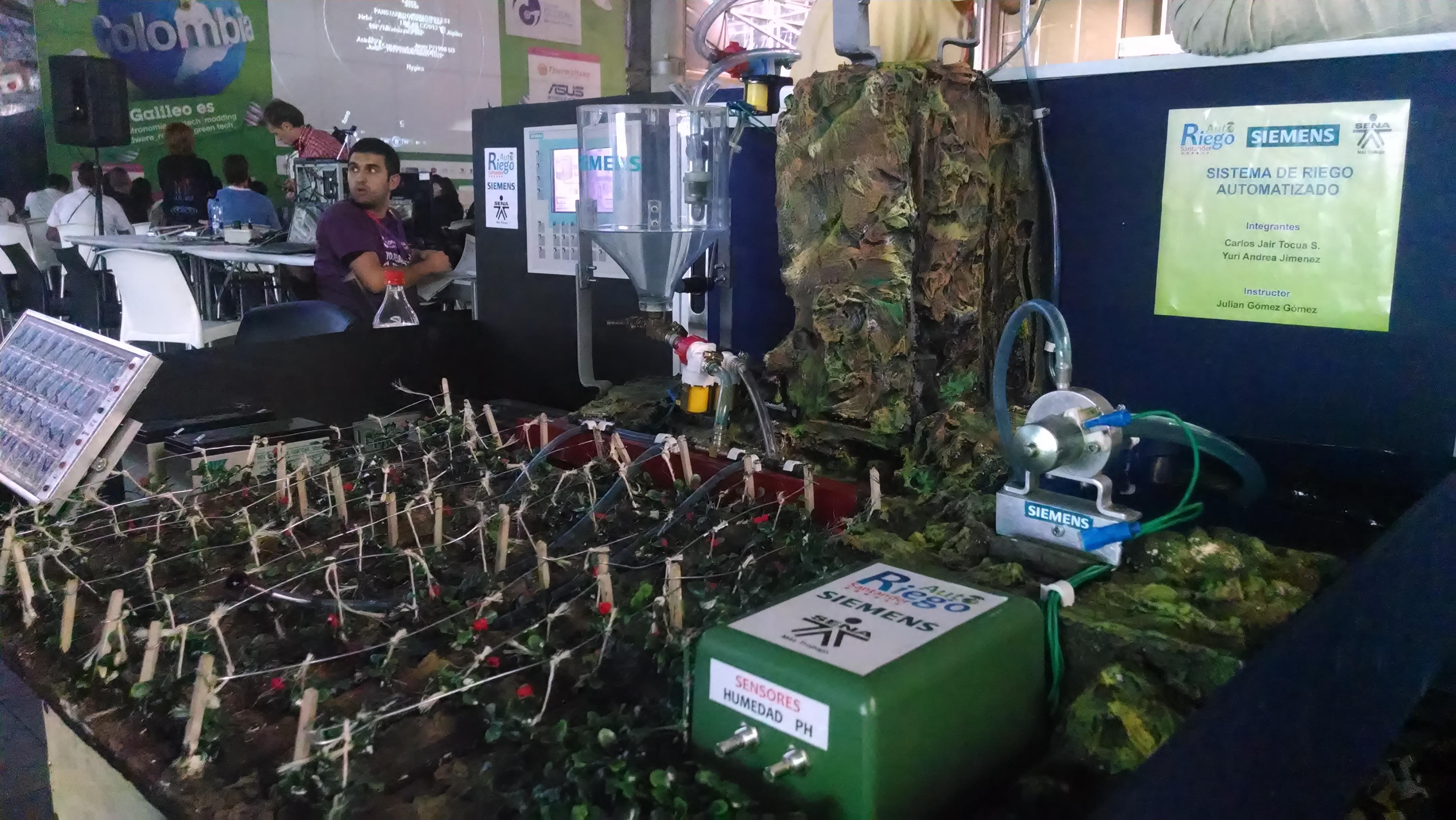 Sistema de riego automatizado, ingenio colombiano   Campus Party ...