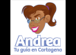 Selecciona el lenguaje (inglés o español) y descubre la ciudad de Cartagena con Andrea.