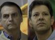 El ultraderechista Jair Bolsonaro y el progresista Fernando Haddad.
