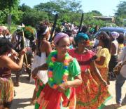 mujeres cantadoras de Gamero
