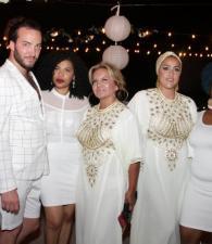 Christopher Dellisanti, Lauren Herrera,Nubia Suárez, Mayssa Deeb y Karen Villadiego.