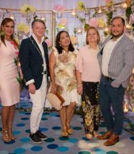 Tatiana Tarón, Juan Pablo Estrada, Rosa Mendoza, Elsy de Figueroa y José Vergara.