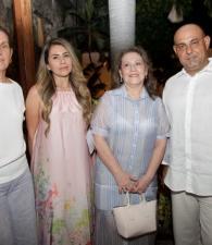 Gabriela Londoño, Laura López, Luz Marina Tovar y Roberto Hoyos.