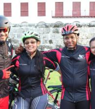 Alexander Nassir, Cindy Rodríguez, Elvis Guzmán y Cristina Sánchez.