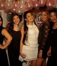 Mailys Ballestas, Laura Rodríguez, Gina Romero, Laura Prent y Yessica Gutiérrez.