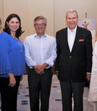Carmen Otero, Rosa María Serrano, Juan Pablo Franky, Raúl Bustamante y María Claudia Páez.
