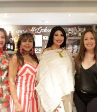 Martha Yarzagaray, Shirly Garcés, Elsy Gomezcáseres y Susana Sarabia.