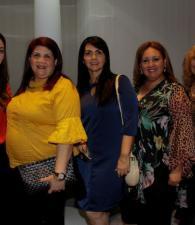 Rosángela Ordosgoitia, Adela Mohadie, Nacira Mohadie, Ana Nabele y Enilsa De Voz.