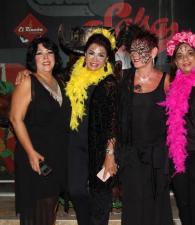 Rosy Juan, Mayra Rodríguez, Vicky Espinosa y Martha Barrios.