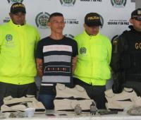 """Rafael Fórez Flórez, a alias """"Comando"""", capturado."""