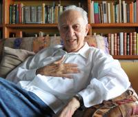 Fotografía de archivo del 12 de marzo de 2012, del escritor mexicano Sergio Pitol, en su casa de la ciudad de Xalapa, en el estado de Veracruz (México).