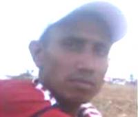 Diomedes Lara Flórez, pescador fallecido.