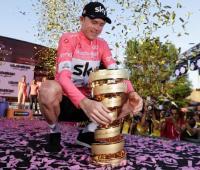 Chris Froome campeón de la edición 101 del Giro de Italia 2018