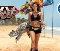 Catalina Aristizabal, presentadora del Desafió Super Humanos Cap Cana.