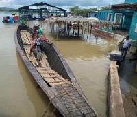 En Guaranda están listas las embarcaciones en caso de requerirse para evacuación.