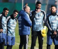 Entrenamiento selección Argentina rumbo a Mundial de Rusia 2018.