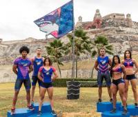 Equipo de Los Costeños Desafió Super Humanos Cap Cana 2018.