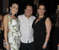 Grace de Abreu, Diego Mazabel y Andreina Bravo.