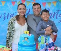 Lauren Fuentes, Luis Raúl Vargas Fuentes y Raúl Vargas