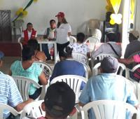 La Unidad para las Víctimas y la comunidad de San Rafael iniciaron la fase de concertación.