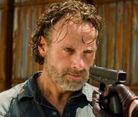 Andrew Lincoln, quien interpreta a Rick Grimes.