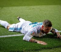 Sergio Ramos, capitán del Real Madrid. 2018