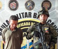 Capturado Gustavo Hernando Medina Trujillo, alias El Zarco.