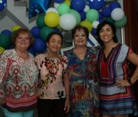 Cecilia De Brigard, Cielo De Brigard, Margarita De Brigard y Paula Gómez.