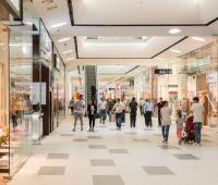 Centros comerciales.