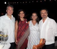Juan Manuel Pérez, Carmenza Mantilla, Sofía Zárate y Víctor Orduz.