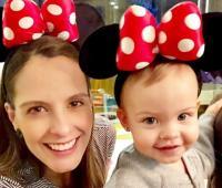 Laura Acuña y su hija Helena.