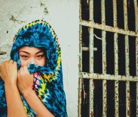 Crystal Morrisa Stephens, Mo'Rissa, en la cárcel de San Diego, en Cartagena.