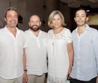 Ricardo Hernández, Nacho García, Carmen Otero y Jaime Martínez.