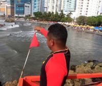 Salvavidas en las playas