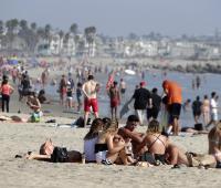 La temperatura global promedio de marzo a mayo fue 1,48 grados Farenheit por encima del promedio de 56,7 grados Farenheit (13,72 centígrados), lo que la convierte en el cuarto período más cálido registrado..