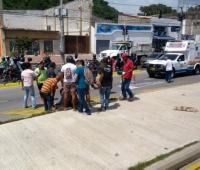 Accidente de Transcaribe.