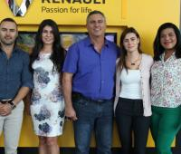 Antonio Yidios Faciolince, Sandra Campo, Antonio Yidios Gedeón, Sandra Marín y Ana Mulga.