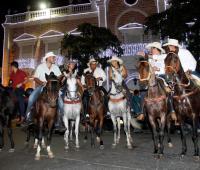 Cabalgata de velitas. Cartagena 2014.